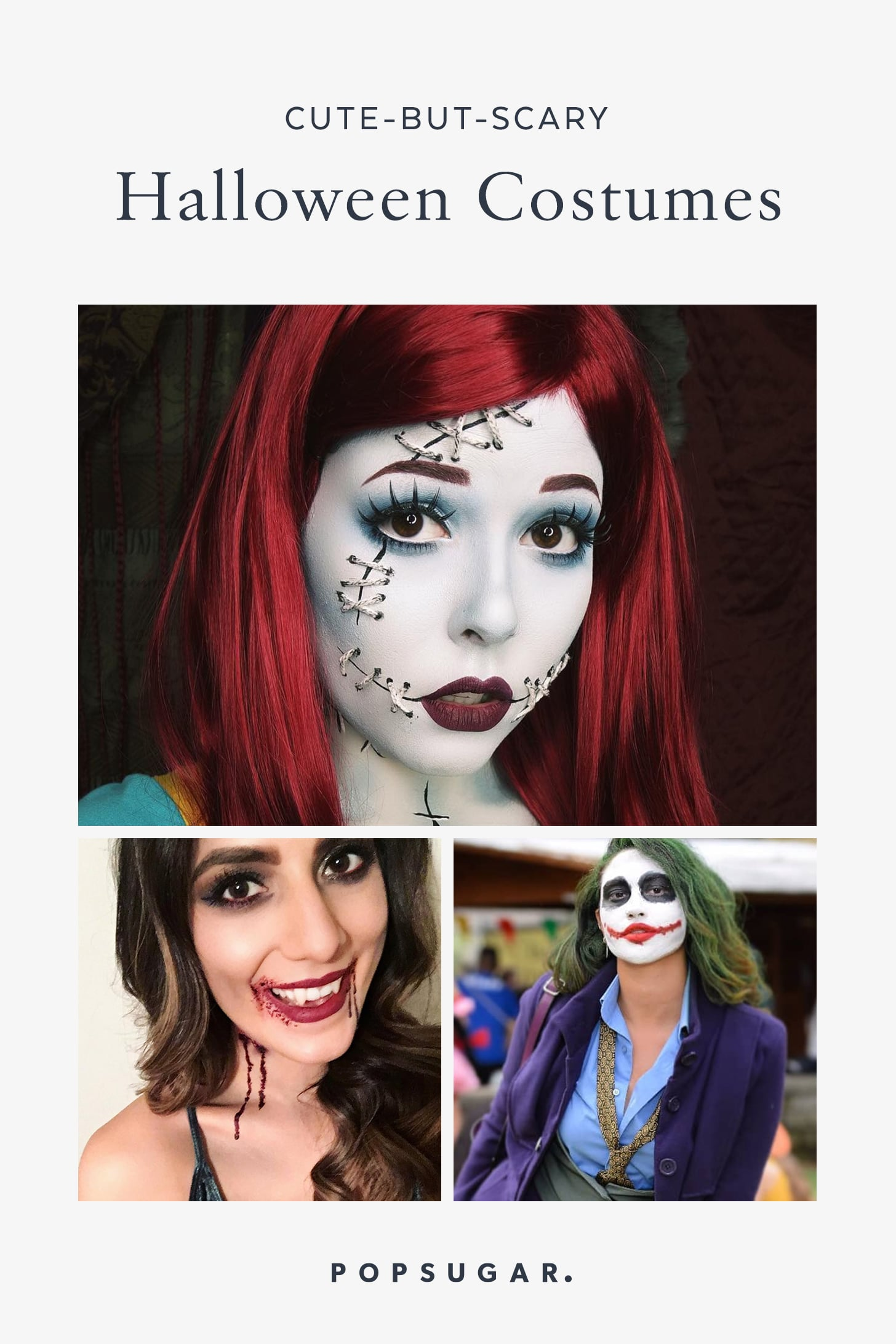 Creepy But Cute Halloween Costumes.Cute But Scary Halloween Costumes Popsugar Love Sex