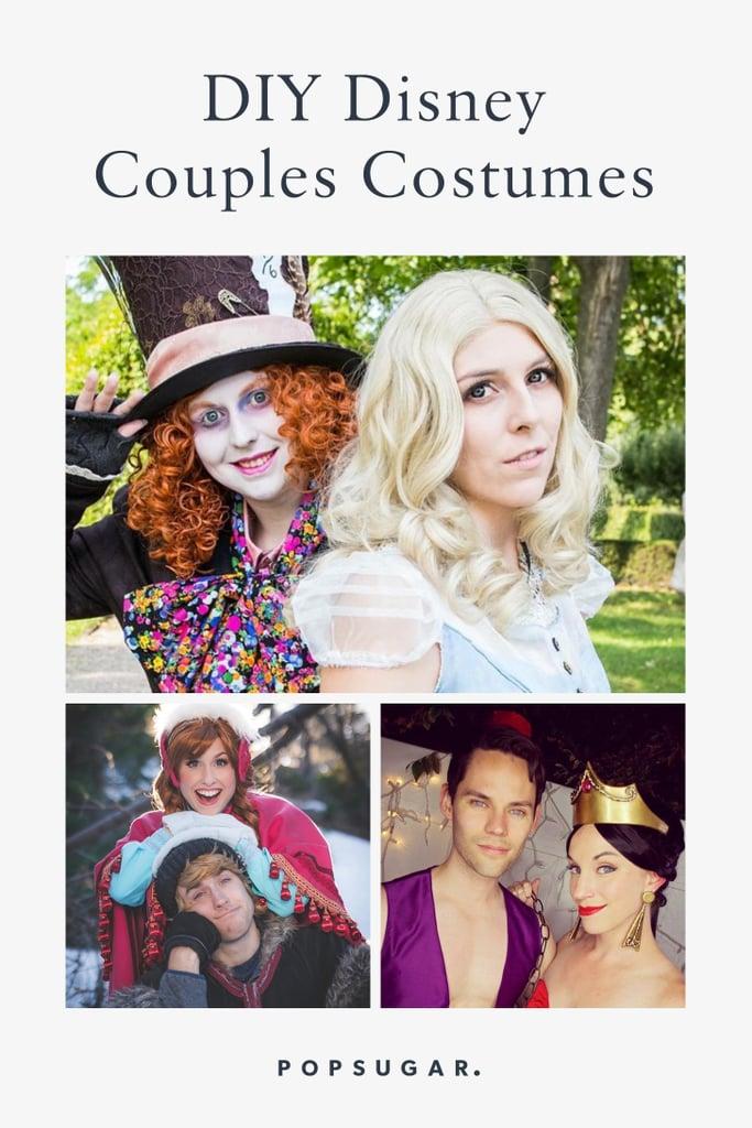 DIY Disney Couples Costumes