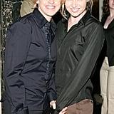 Portia de Rossi and Ellen DeGeneres smiled big at a May 2005 event in Beverly Hills.