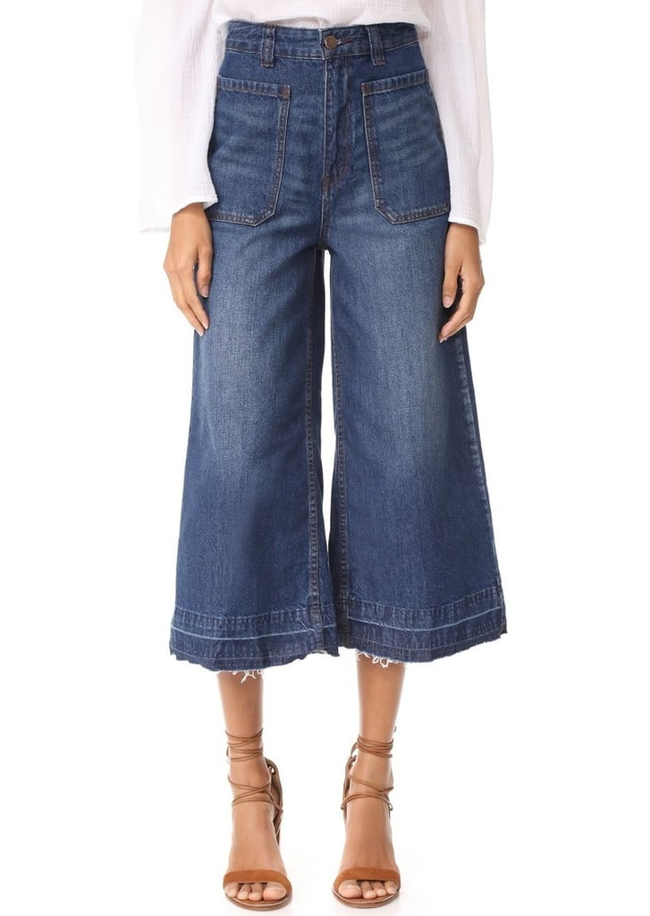 Free People Crop Jeans