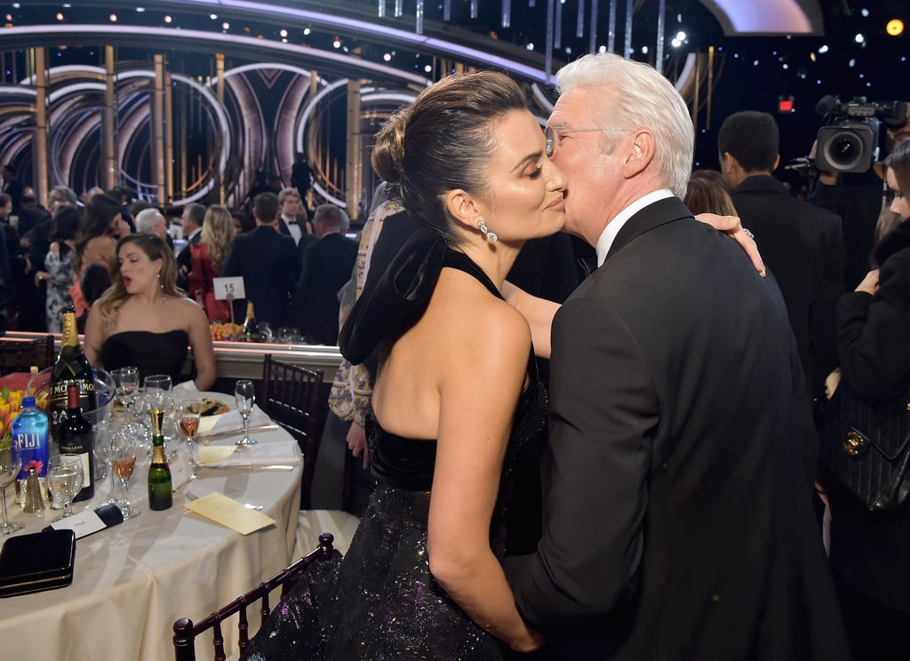 Pictured: Penélope Cruz and Richard Gere