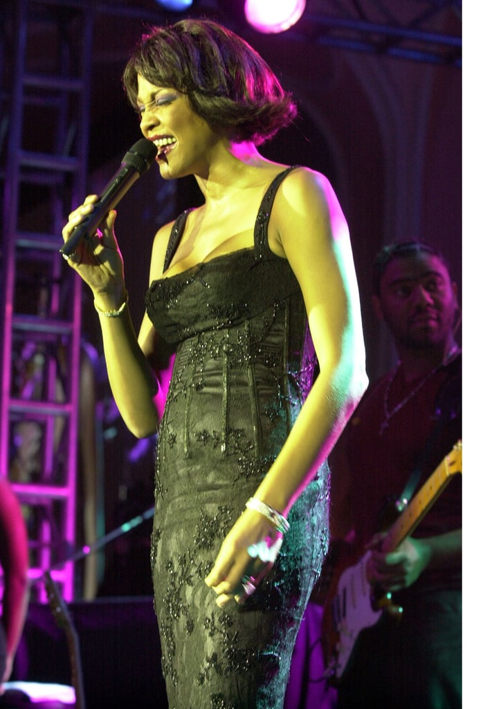 Whitney performed at Clive Davis' pre-Grammys party in 2000.
