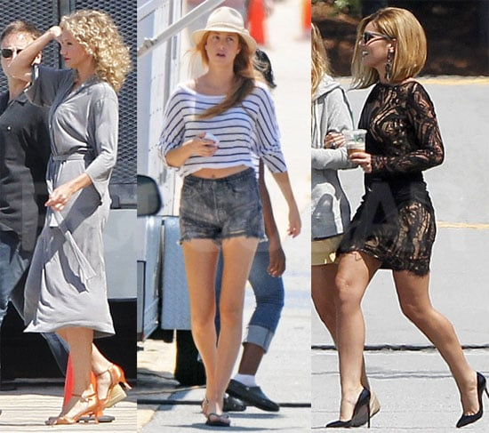 Birthday Girl Cameron Diaz Spends a Day on Set With Cheryl and Whitney