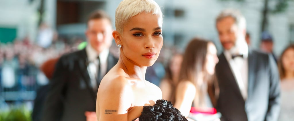 Zoë Kravitz's Dress Was Made From Real Roses, So That's Why You Can't Stop Staring