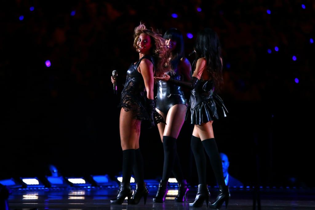 Beyoncé Rocks the Superdome With Destiny's Child For Her Super Bowl Half-Time Show