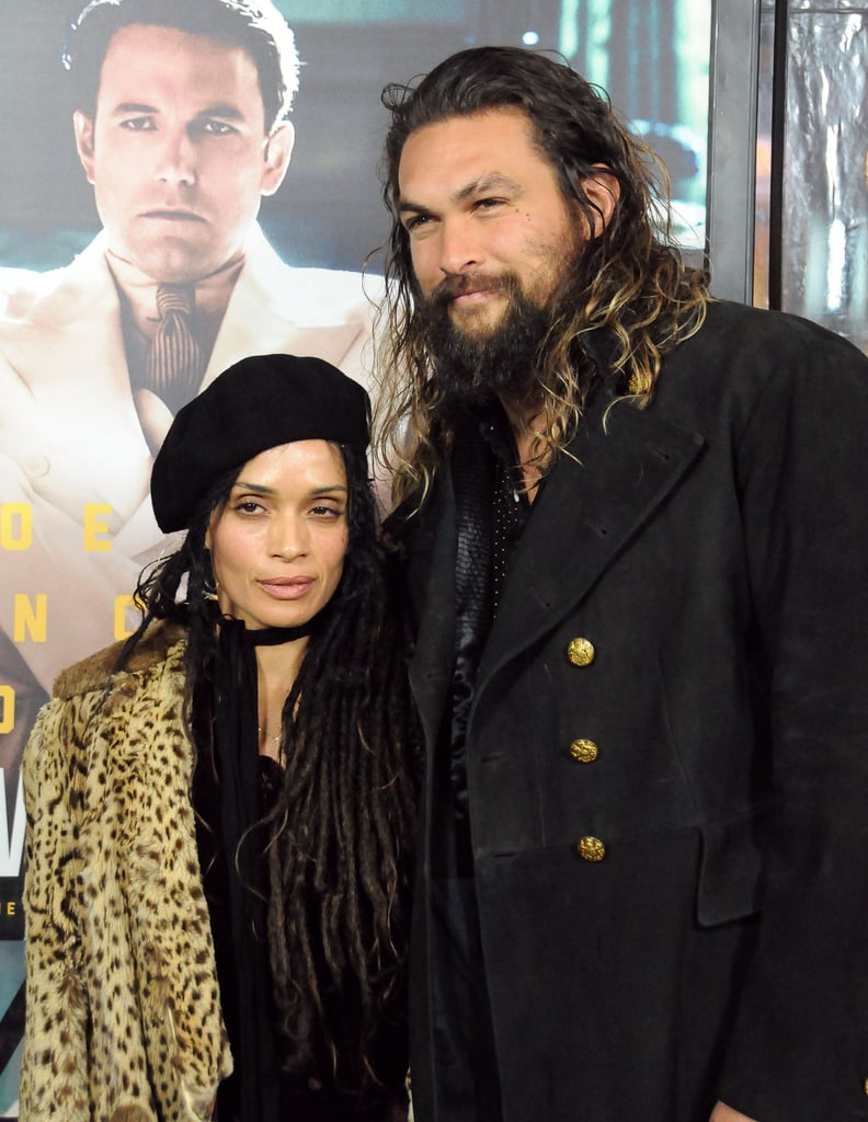"""Lisa Bonet and Jason Momoa proved that they still know how to work a red carpet when they stepped out for the LA premiere of Live by Night on Monday. The couple — who is going on 10 years of marriage — was the epitome of cool as they held hands and allowed photographers to snap their photos. Lisa and Jason's night out marks the first time the pair has hit a red carpet together in over a year. The last time these two strutted their stuff was at the InStyle Awards back in October 2015. Oh, how we've missed them.        Related:                                                                Jason Momoa Jokes That He """"Kinda Stalked"""" Wife Lisa Bonet Before They Met                                                                   28 Pictures That Prove Zoë Kravitz Had No Choice but to Be Ridiculously Good-Looking"""