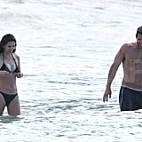 Pictures of Courteney Cox in a Bikini With Shirtless Josh Hopkins and Coco