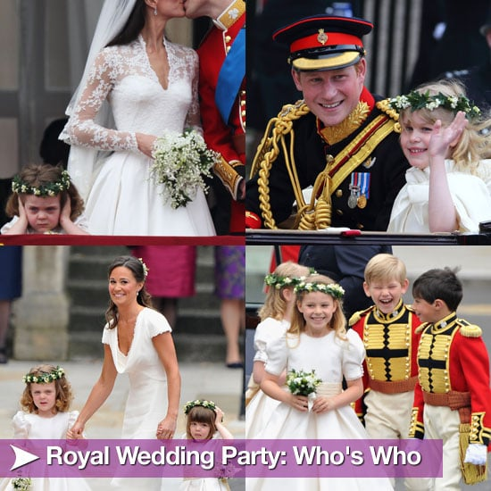 Who's in Royal Wedding Party?