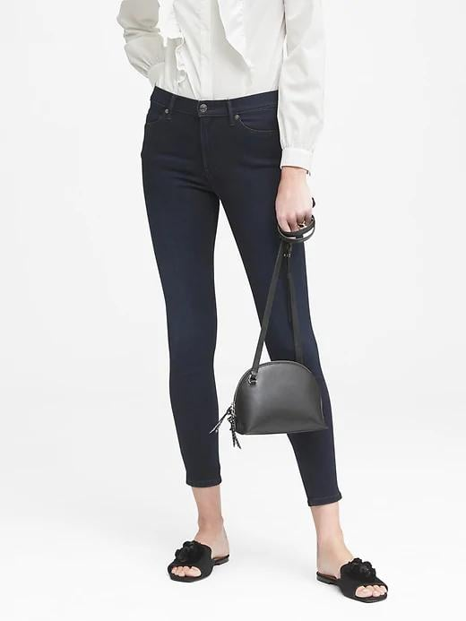 High-Rise Legging Luxe Sculpt Ankle Jeans