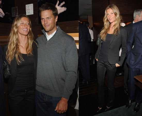 The Only Super Thing on Tom's Mind Is His Model GF Gisele