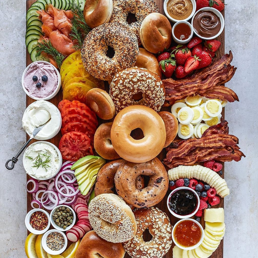 How to Make Bagel Charcuterie Boards