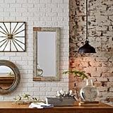 Stone & Beam Vintage-Look Rectangular Hanging Wall Frame Mirror