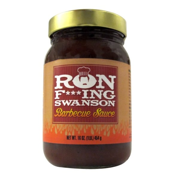 Ron F***ing Swanson Barbecue Sauce ($15)