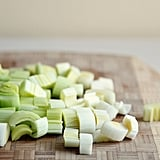 Preparing Leeks