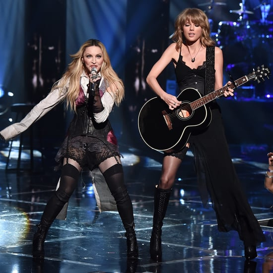 """Madonna and Taylor Swift """"Ghosttown"""" Performance 