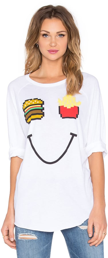 Junk Food Clothing Fast Food Tee ($41)
