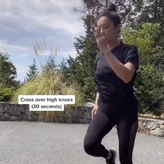 Shay Mitchell's Bodyweight Home Workout on TikTok