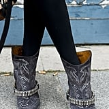 Nothing says cowboy-chic like a pair of crystal-embellished Isabel Marant boots.