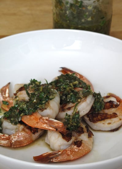 Grilled Shrimp With Italian Salsa Verde