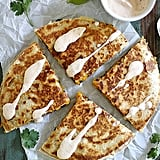 Black Bean Butternut Squash Quesadillas With Chipotle Lime Crema