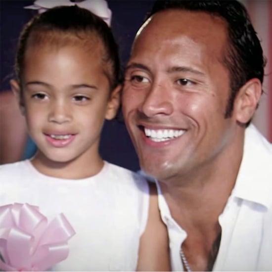 Dwayne Johnson Talks About Daughter Simone