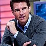 Tom Cruise was on Spanish TV.