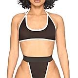 Icon Swim Black and White Bikini Set