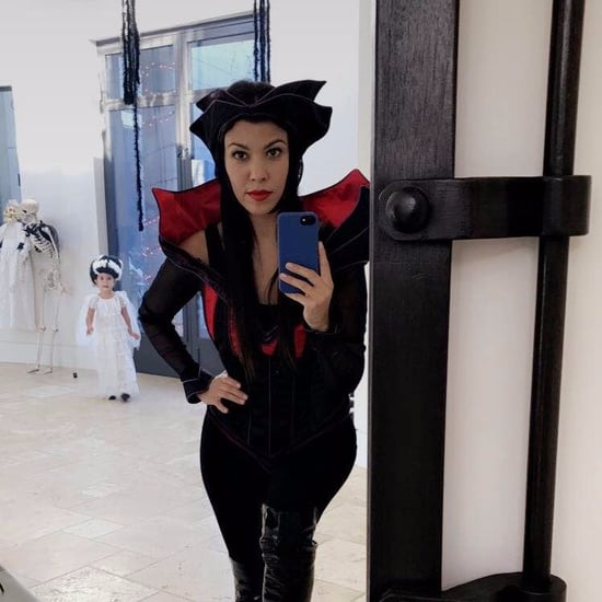 Kourtney Kardashian Halloween Decorations
