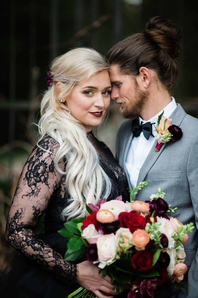 This Couple Celebrated Their 10-Year Anniversary With a Gorgeous Gothic Vow Renewal