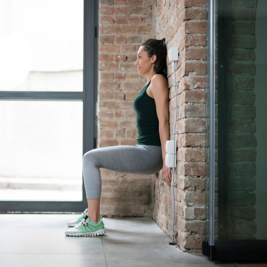 Wall Sit Variations to Strengthen Legs and Butt