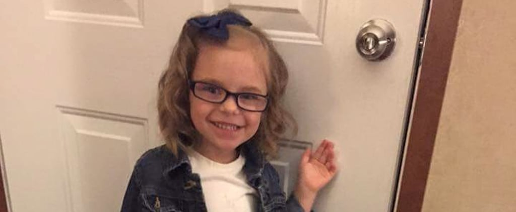 Mom Photographs Her Daughter Before and After Her First Day of Preschool and the Results Are Hilarious