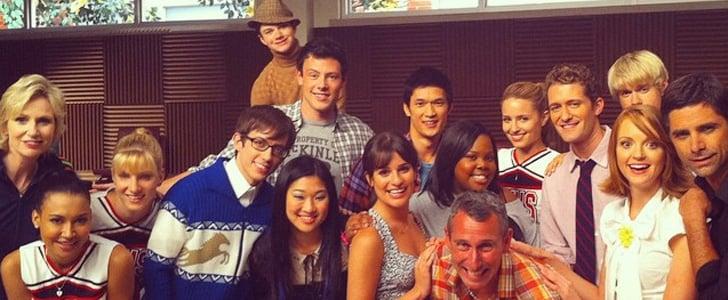 How the Glee Cast Said Goodbye on Social Media