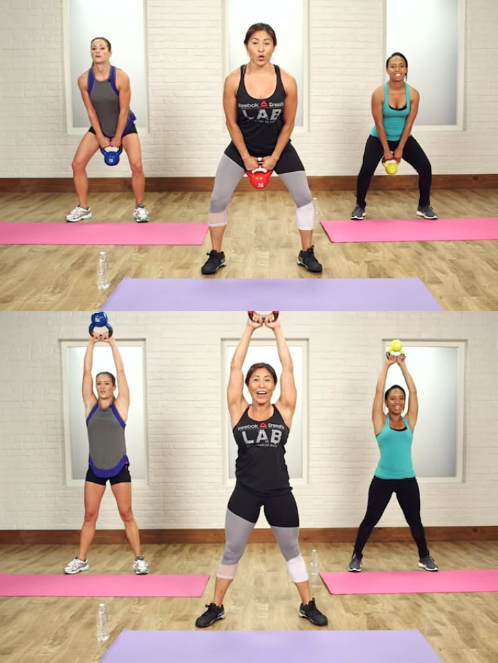The Kettlebell Move You Need to Burn Fat and Tone Your Legs, Butt, and Core