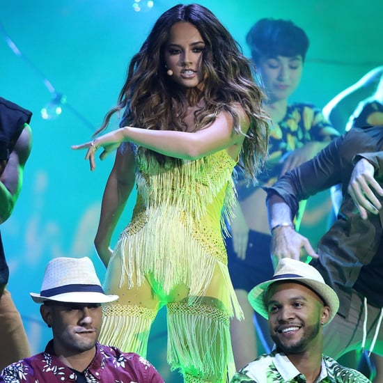 "Becky G Performing ""Mangu"" at Latin American Music Awards"