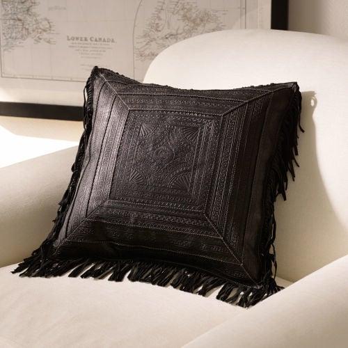 Ralph Lauren Pinyon Fringe Throw Pillow  ($495)