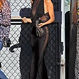 Nicole Richie wore Fall 2013 Emilio Pucci in Los Angeles.