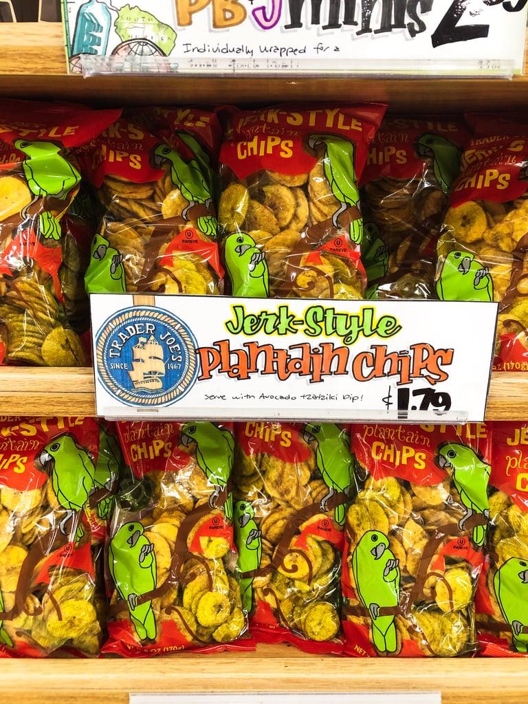 Jerk-Style Plantain Chips ($2)