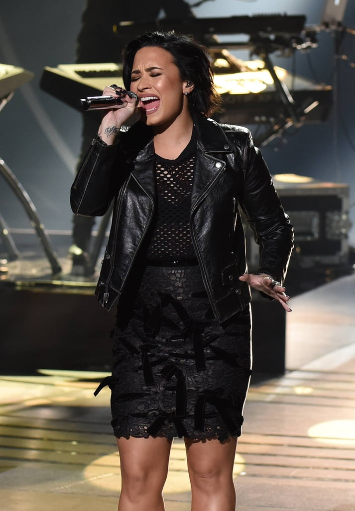 Demi on Stage