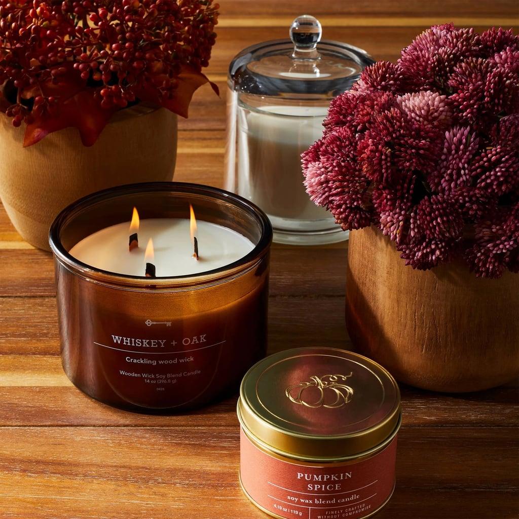 Pumpkin Spice Tin Jar Candle