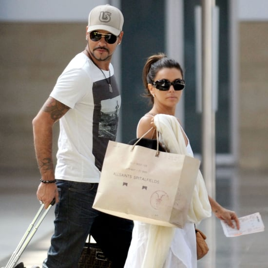 Eva Longoria and Eduardo Cruz Traveling in Spain Pictures