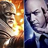 Apocalypse and Professor X From X-Men: Apocalypse
