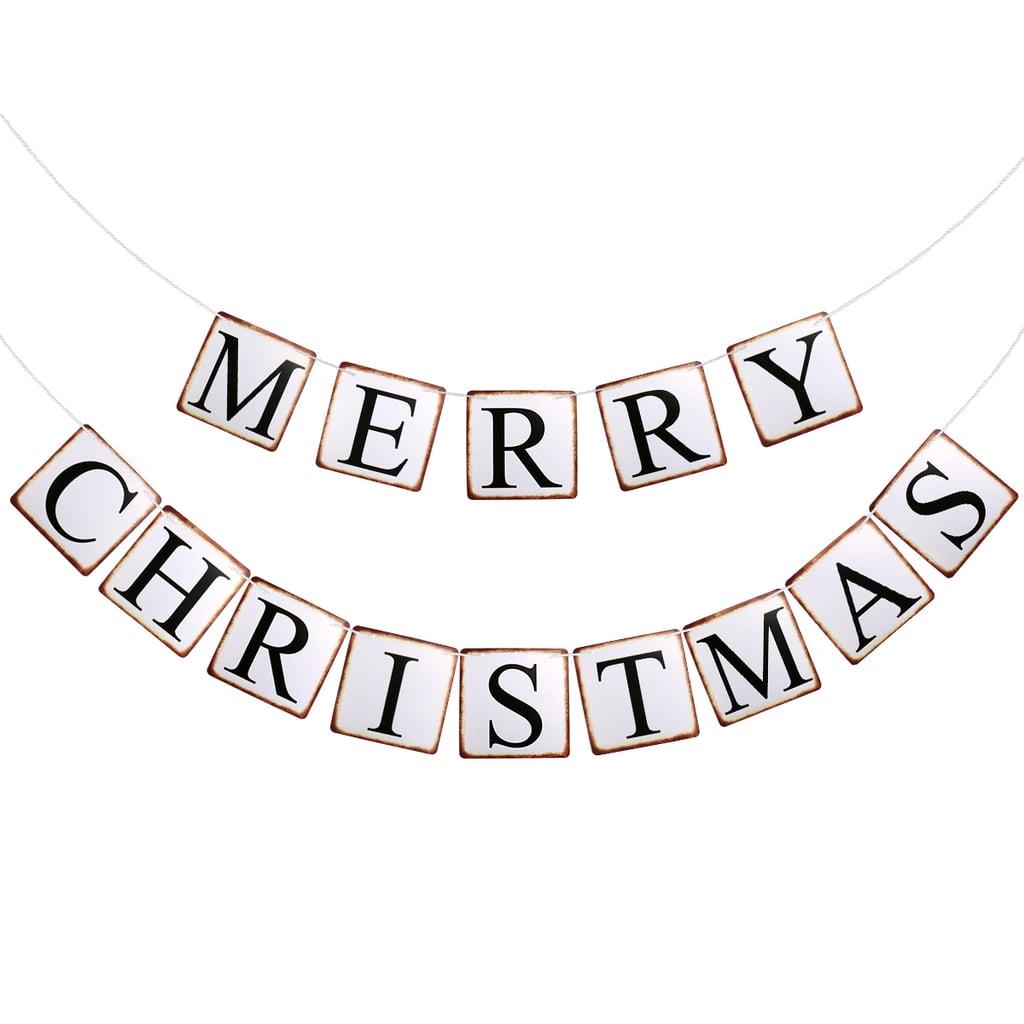 Tinksy Merry Christmas Banner