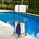 Bronze Pool Storage Towel/Shelf Hamper