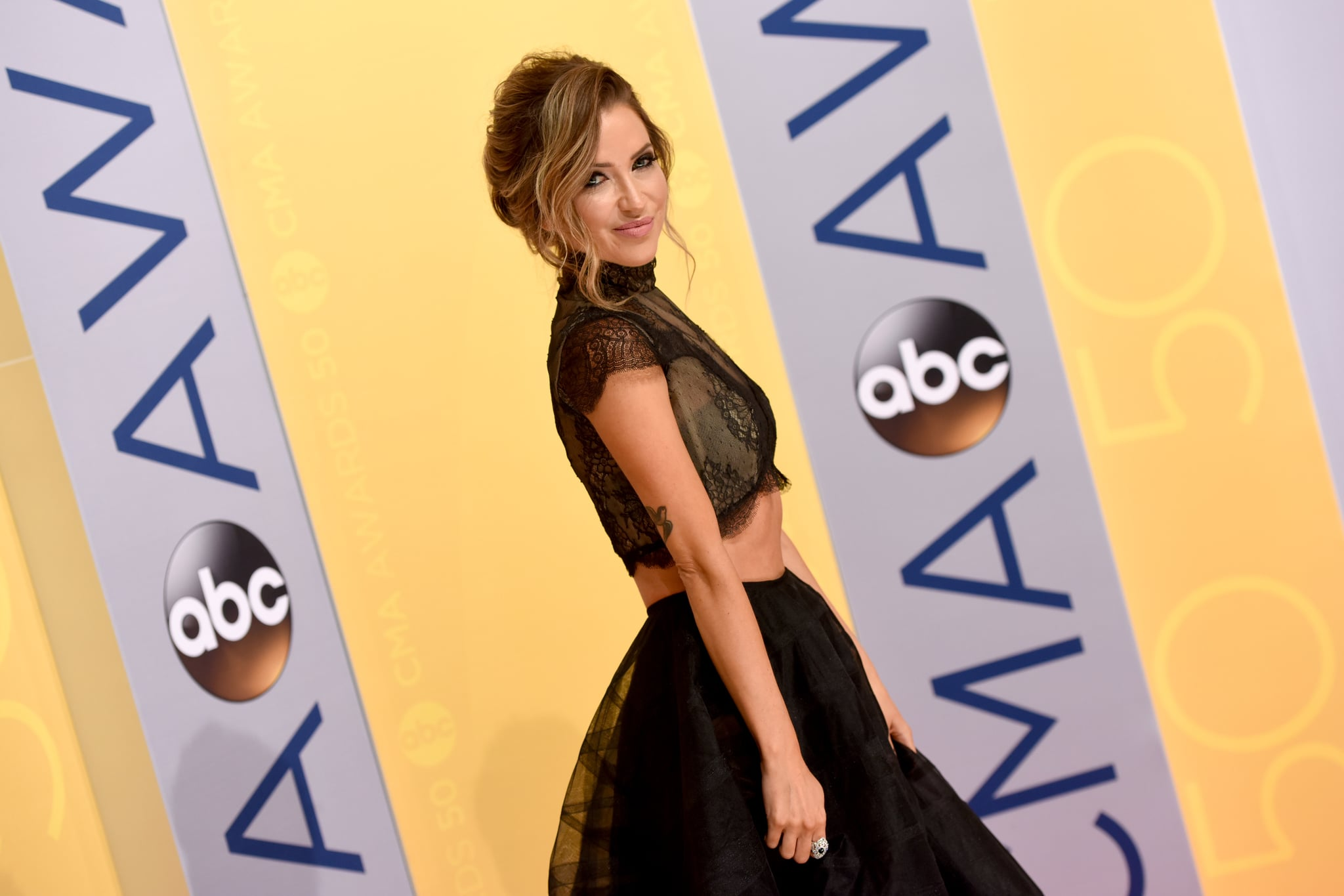 NASHVILLE, TN - NOVEMBER 02:  TV personality Kaitlyn Bristowe attends the 50th annual CMA Awards at the Bridgestone Arena on November 2, 2016 in Nashville, Tennessee.  (Photo by John Shearer/WireImage)