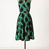 This dress reminds us of Mad Men; we also like how you can layer this with a black turtleneck and tights come Winter.  Anthropologie Across the Land Dress ($138)