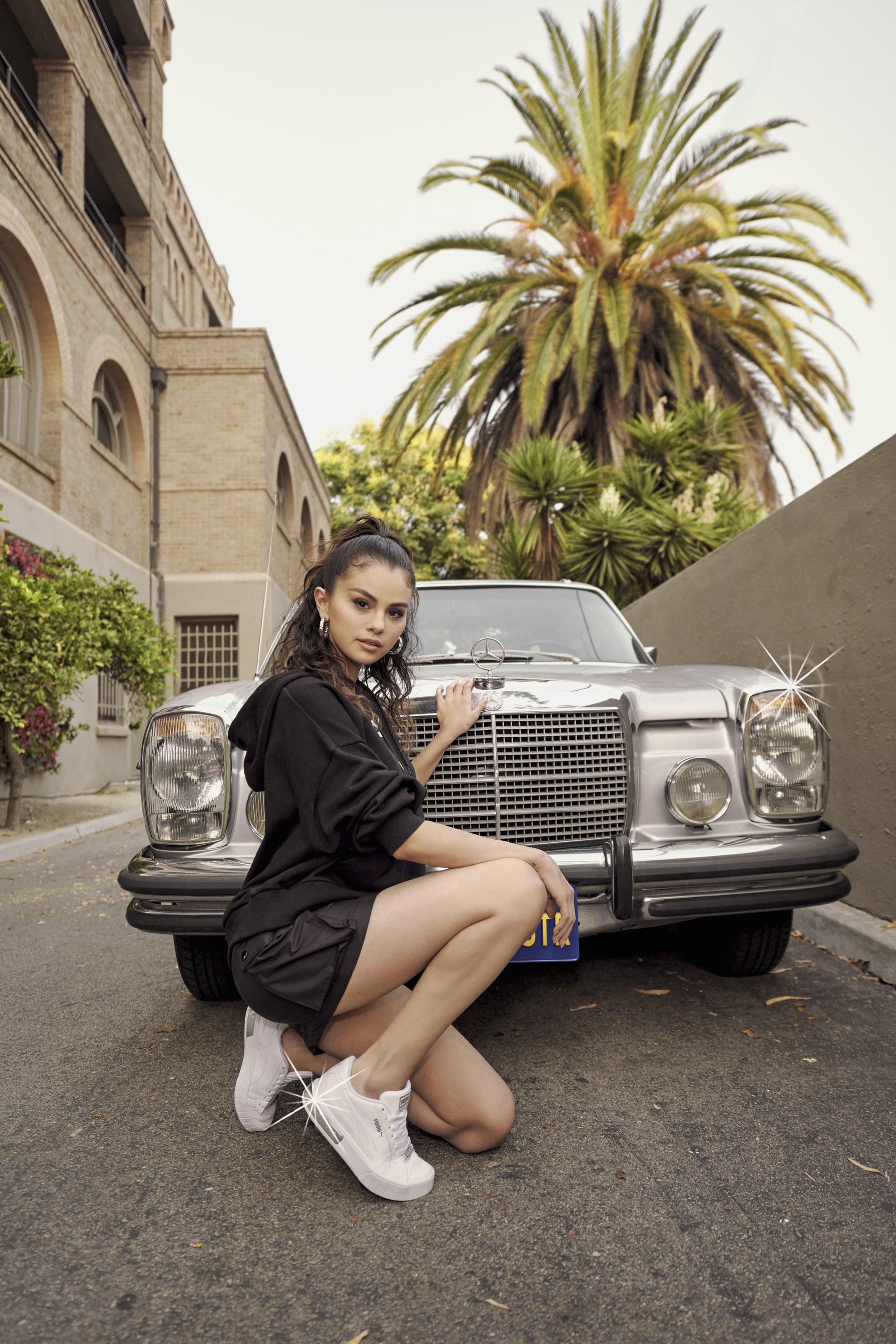 Shop Selena Gomez's Puma's New Cali Star Metallic Sneakers ...