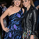 Princess Eugenie and Princess Beatrice at a Chanel Summer party in England in 2018.