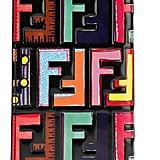 Fendi Embossed Printed Leather iPhone Plus Case
