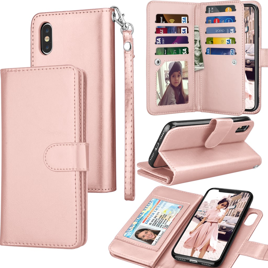 new product 6c8e1 720a5 iPhone Wallet Case Cover   Cool Products From Walmart   POPSUGAR ...