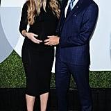 Chad Michael Murray, Sarah Roemer at GQ Men of the Year 2016